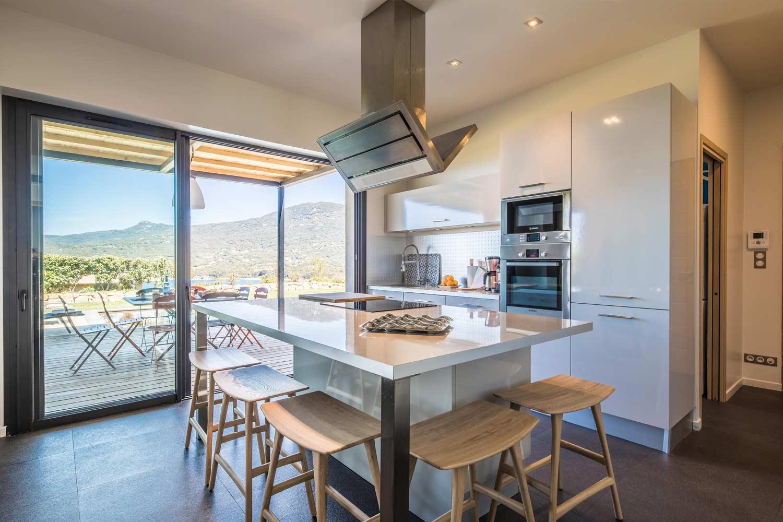 casa grazia villa luxe propriano corse cuisine
