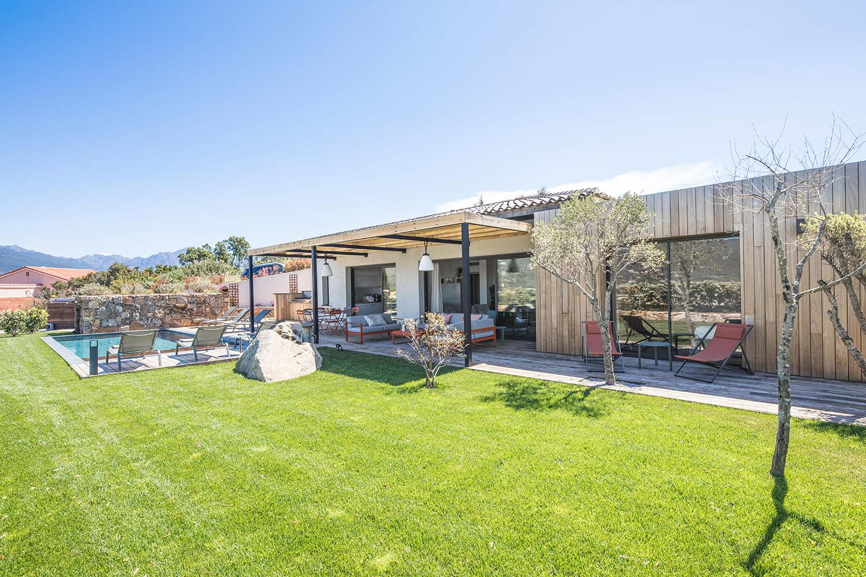 casa grazia villa luxe propriano corse jardin