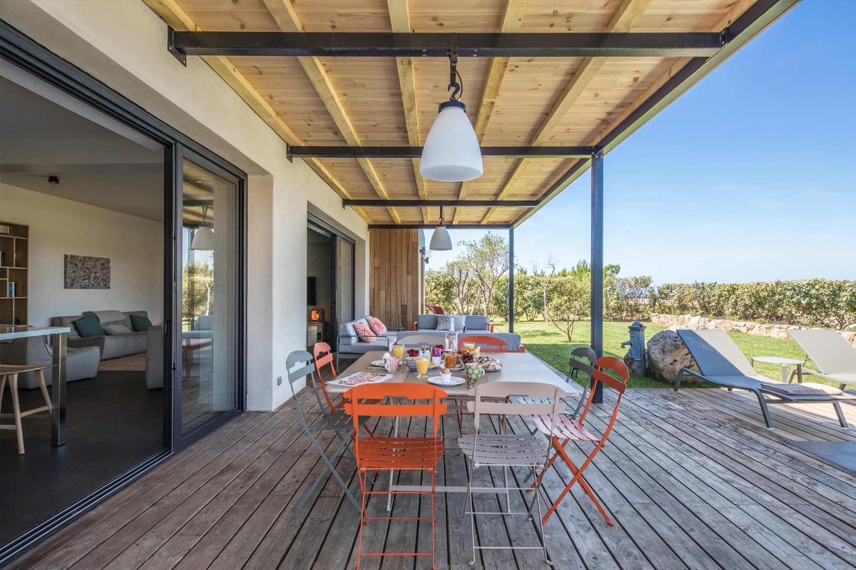 casa grazia villa luxe propriano corse terrasse