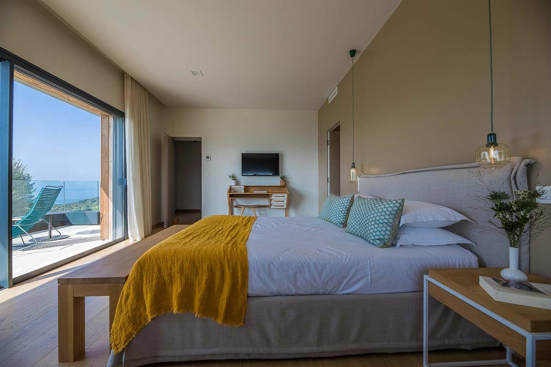casa lilia villa luxe propriano corse chambre vue mer