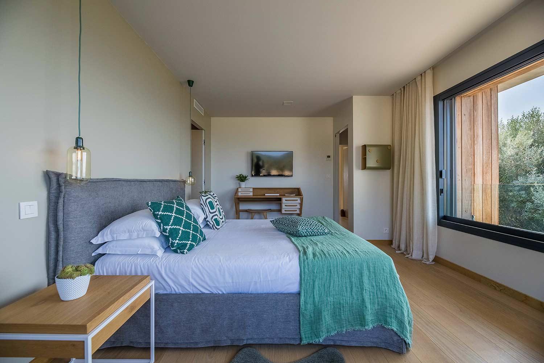casa lilia villa luxe propriano corse chambre zen