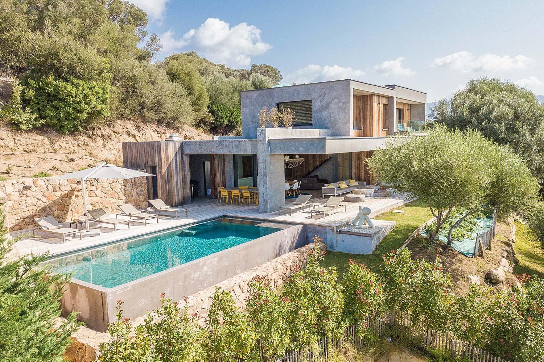 casa lilia villa luxe propriano corse jardin