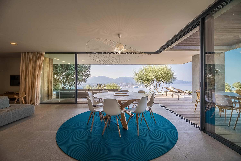 casa lilia villa luxe propriano corse petit salon
