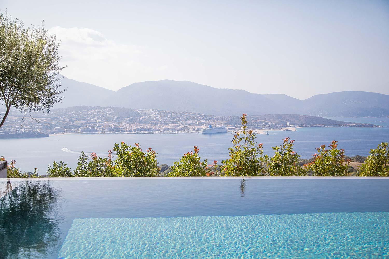 casa lilia villa luxe propriano corse piscine vue panoramique mer