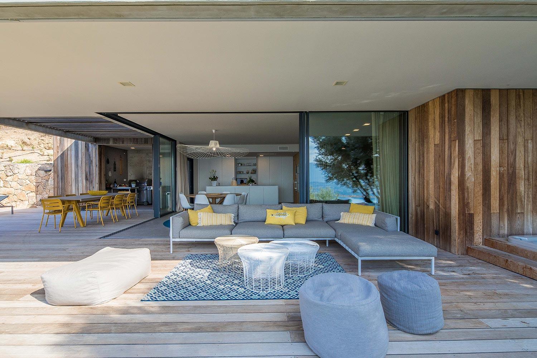 Casa Lilia | Terrasse - Location Villa de luxe à Propriano en Corse
