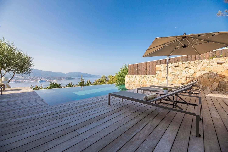 casa lilia villa luxe propriano corse salon vue panoramique