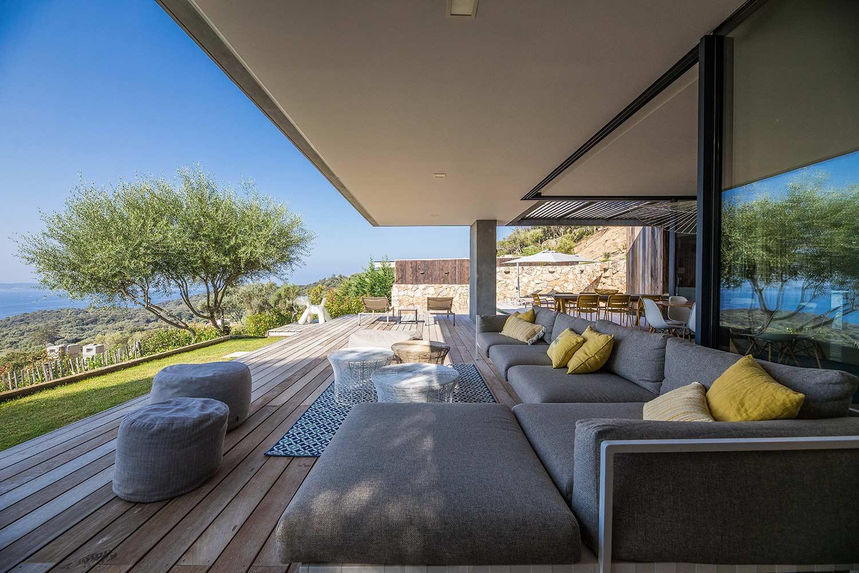 casa lilia villa luxe propriano corse terrasse canape