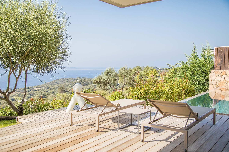 casa lilia villa luxe propriano corse terrasse vue
