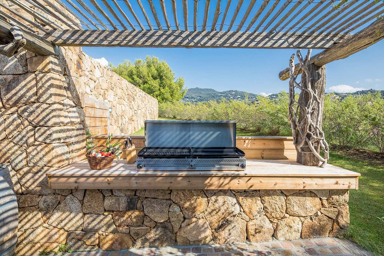 casa lucia villa luxe propriano corse barbecue