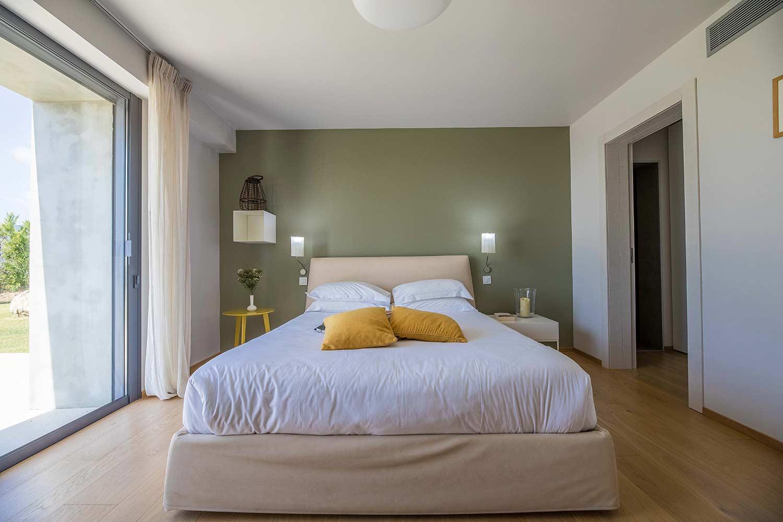 casa lucia villa luxe propriano corse chambre vue jardin