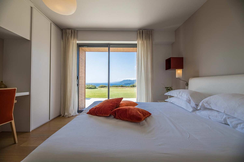 casa lucia villa luxe propriano corse chambre vue mer