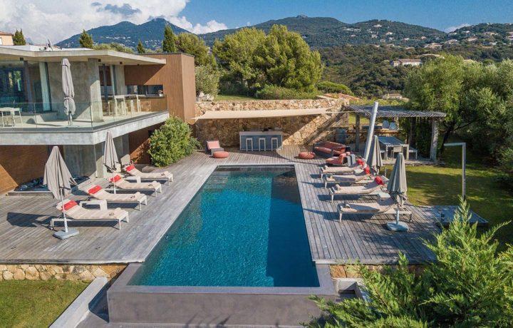 casa lucia villa luxe propriano corse jardin