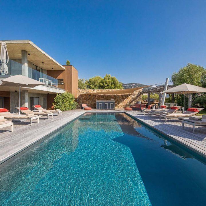 casa lucia villa luxe propriano corse piscine