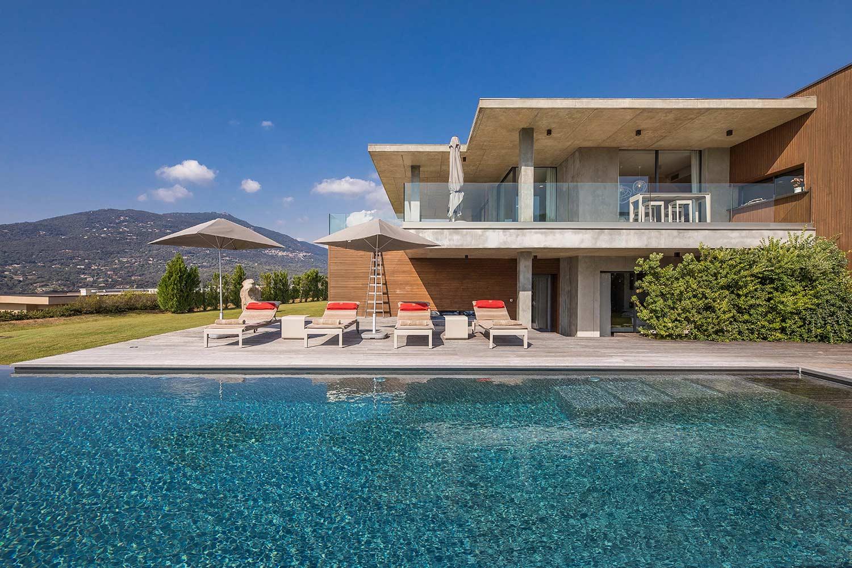 casa lucia villa luxe propriano corse piscine detente sejour