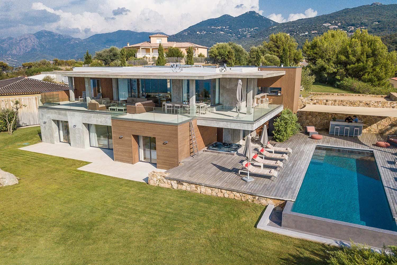 casa lucia villa luxe propriano corse reve