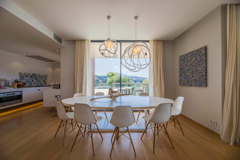 casa lucia villa luxe propriano corse salon cuisine confort