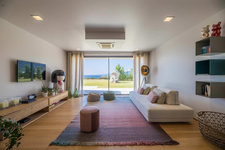 casa lucia villa luxe propriano corse salon detente mer
