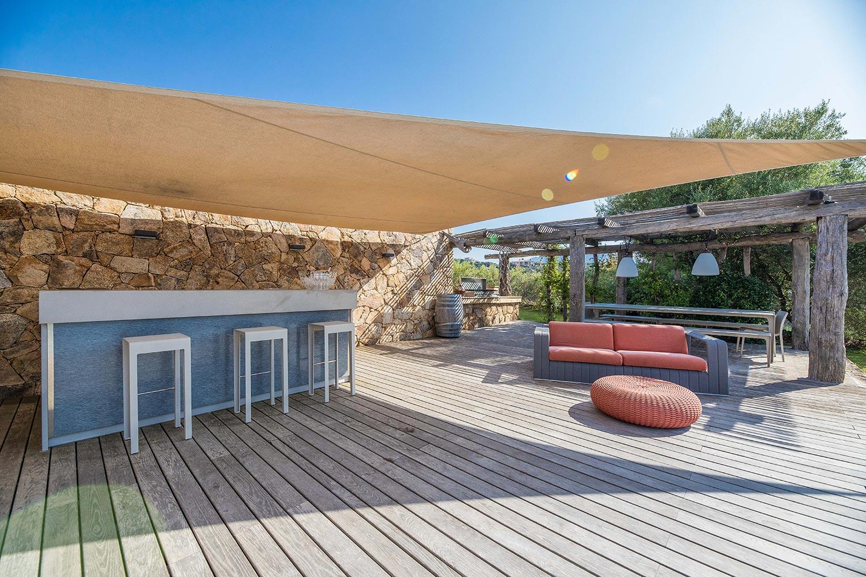 Casa Lucia | Salon de jardin - Location Villa de luxe à Propriano en Corse
