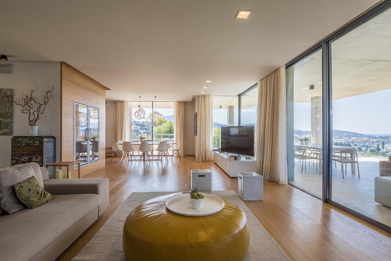 Casa Lucia | Salon - Location Villa de luxe à Propriano en Corse
