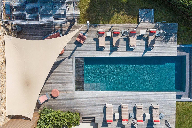 casa lucia villa luxe propriano corse villa piscine drone